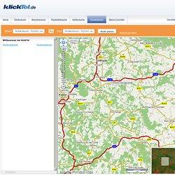 Routenplaner kostenlos, einfach und schnell mit Stauinfos von klickTel
