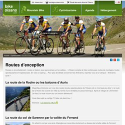 Routes d'exception en oisans