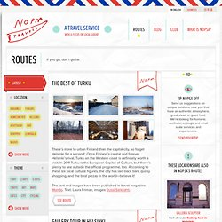 Routes | Nopsa | A travel service/with a focus on local luxury