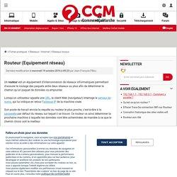 Routeur (Equipement réseau)