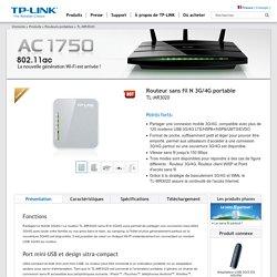 Routeur sans fil N 3G/4G portable TL-MR3020 - Bienvenue chez TP-LINK