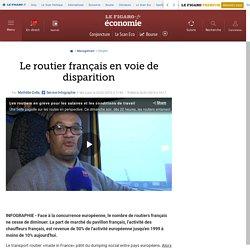 Le routier français en voie de disparition