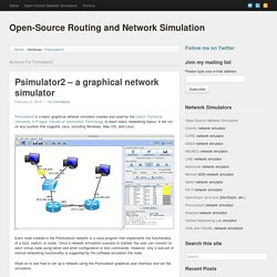 Open-Source Routing and Network Simulation