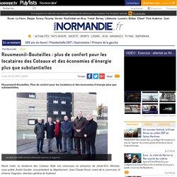Rouxmesnil-Bouteilles : plus de confort pour les locataires des Coteaux et des économies d'énergie plus que substantielles
