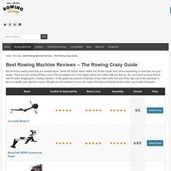 Best Rowing Machine Reviews - Best of 2017