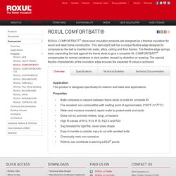 ROXUL ComfortBatt