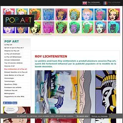 Roy Lichtenstein et le Pop art diogo lourenco