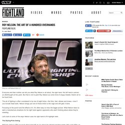 Roy Nelson: The Art of a Hundred Overhands