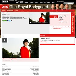 BBC iPlayer - The Royal Bodyguard: A Watery Grave