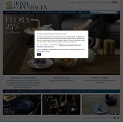 Royal Copenhagen webshop