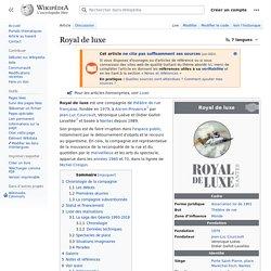 Annexe 10 : Royal de luxe