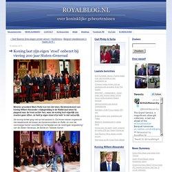ROYALBLOG.NL: Koning laat zijn eigen 'stoel' onbezet bij viering 200 jaar Staten-Generaal