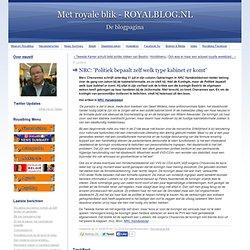 Met royale blik - ROYALBLOG.NL: NRC: 'Politiek bepaalt zelf welk type kabinet er komt'