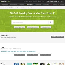 Royalty Free Music - Sound Effects - Stock Audio
