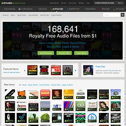 Royalty Free Music & Stock Audio - AudioJungle