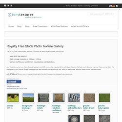 Royalty Free Stock Photo Texture Gallery » tonytextures.com