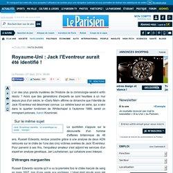 Royaume-Uni : Jack l'Eventreur aurait été identifié !