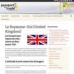 Le Royaume-Uni (United Kingdom) - Business Culture (FR)