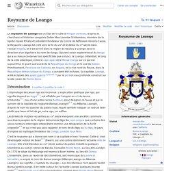 Royaume de Loango