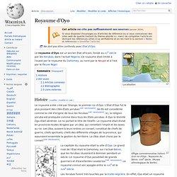 Royaume d'Oyo