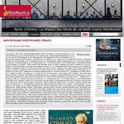 Mon royaume pour Richard Strauss : Liste des oeuvres - resmusica.com