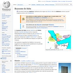 Royaume de Saba (-716 av. J.-C.)