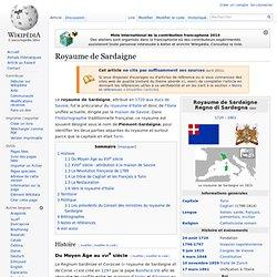 Royaume de Sardaigne