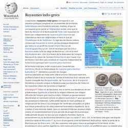 Royaumes indo-grecs