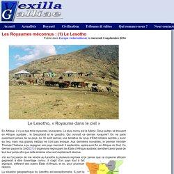 Les Royaumes méconnus : (1) Le Lesotho