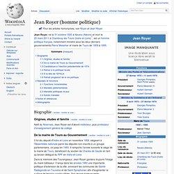 Jean Royer (politique)