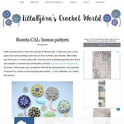 Rozeta CAL: bonus pattern