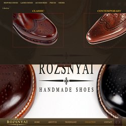 ROZSNYAI HANDMADE SHOES - Collection
