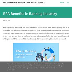 RPA Benefits in Banking Industry