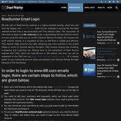 RR Com & TWC Email Login Help