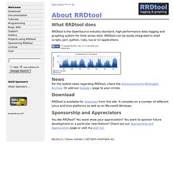 RRDtool - About RRDtool