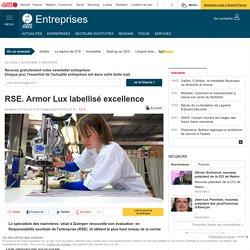 RSE. Armor Lux labellisé excellence