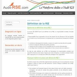 RSE : Définition de la RSE