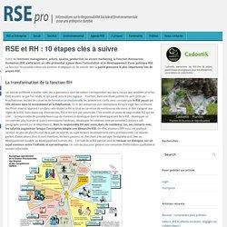 RSE et RH : 10 étapes clés à suivre