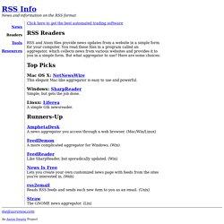 RSS Readers (RSS Info)