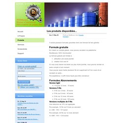 RssMecano.com : Produits