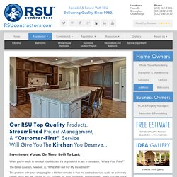 Get Kitchen Remodeling Contractor