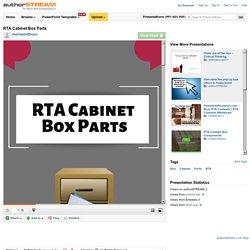 RTA Cabinet Box Parts