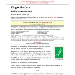 RTE #36 ~ King o' the Cats
