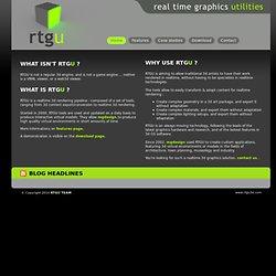 RTGU realtime 3d graphics engine