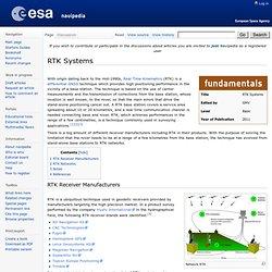 RTK Systems - Navipedia