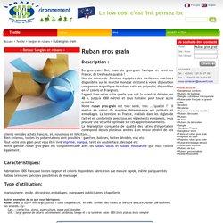 Ruban gros grain - SAGAERT France