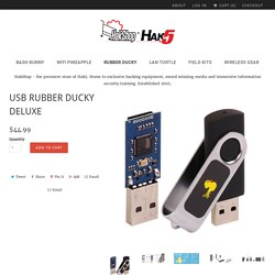USB Rubber Ducky Deluxe - HakShop by Hak5