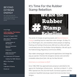 It's Time For the Rubber Stamp Rebellion