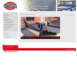 Firestone RubberCover™ EPDM - RubberCover installation demo