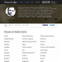 Rubén Darío - Poemas de Rubén Darío
